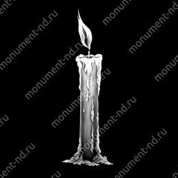 Гравировка свечи С-017 ≤ 34х22 см