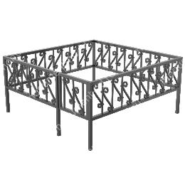 Ограда кованная ОК-5 200х180 см