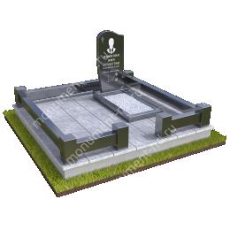"""Мемориальный комплекс Ц - 093 """"Под ключ"""" 200х180 см"""