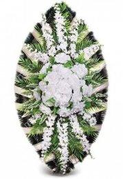 Венок элитный - 42 полимер,текстиль,проволока от 90 см