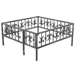 Ограда кованная ОK-35 200х180 см