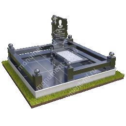 """Мемориальный комплекс Ц-033 """"Под ключ"""" 200х180 см"""