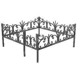 Ограда кованная ОК-6 200х180 см