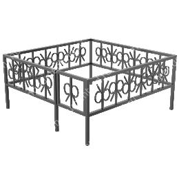Ограда сварная ОС - 020 200х180 см.