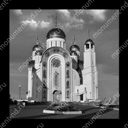 Гравировка храмы Х-020 ≤ 50х50 см
