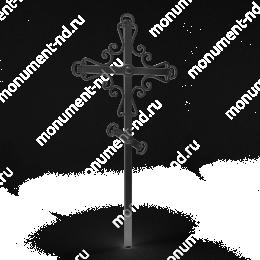 Крест на могилу Кр-004   металл 200х70 см