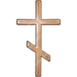 Декор для памятника-015 полимергранит цвет бронза/серебро 12х7 см