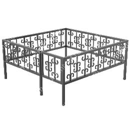 Ограда сварная ОС - 018 200х180 см.