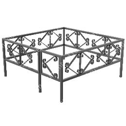 Ограда сварная ОС - 015 200х180 см.
