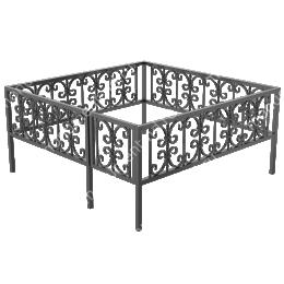 Ограда кованная ОК-4 200х180 см