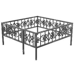 Ограда кованная ОК-2 200х180 см