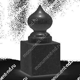 Шар из гранита Ш-019 гранит цвет чёрный/красный/серый от ø 10 см