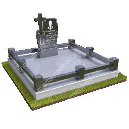 """Мемориальный комплекс Ц-077 """"Под ключ"""" 200х180 см"""