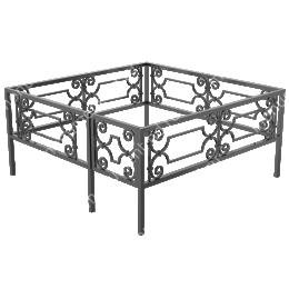 Ограда кованная ОК-20 200х180 см