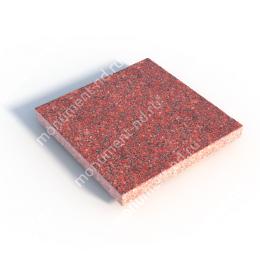 Гранитная плитка ГП-03 цвет красный 1 кв.м.