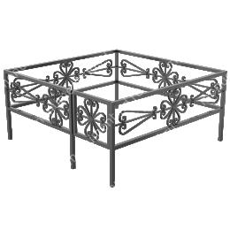 Ограда кованная ОК-29 200х180 см