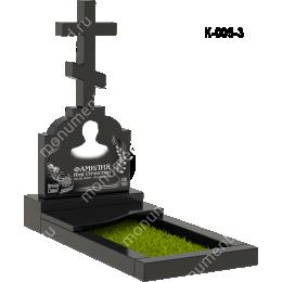 Надгробная плита - 005 гранит 60*50*8