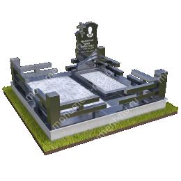 """Мемориальный комплекс Ц - 041 """"Под ключ"""" 200х180 см"""