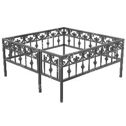 Ограда кованная ОК-3 200х180 см