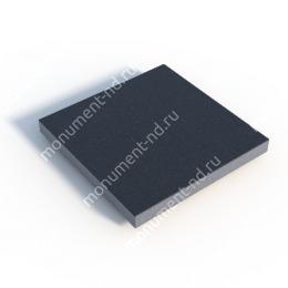 Гранитная плитка ГП-01 цвет чёрный 1 кв.м.