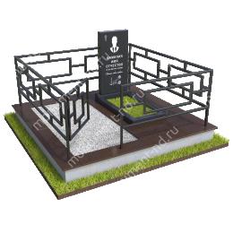 """Мемориальный комплекс Ц - 095 """"Под ключ"""" 200х180 см"""