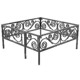 Ограда кованная ОК 21 200х180 см