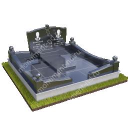 """Мемориальный комплекс Ц-071 """"Под ключ"""" 200х180 см"""