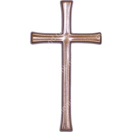 Декор для памятника-017 полимергранит цвет бронза/серебро 12х6,5 см