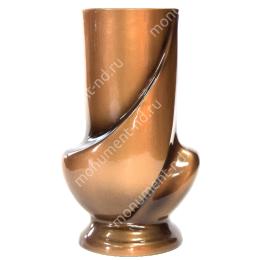 Ваза из полимергранита ВП-001_1 22 см