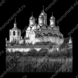 Гравировка храмы Х-003 ≤ 50х50 см