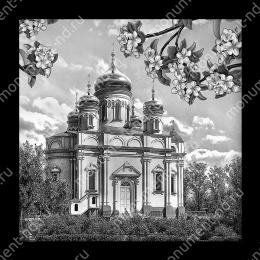 Гравировка храмы  Х-016 ≤ 50х50 см
