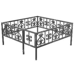 Ограда кованная ОК-1 200х180 см