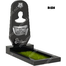 Вертикальный памятник В-024 гранит 100*50*5