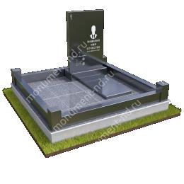 """Мемориальный комплекс Ц-049 """"Под ключ"""" 200х180 см"""