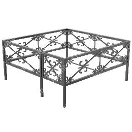 Сварная ограда ОС-008 200х180 см.