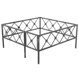 Ограда кованная ОK-39 200х180 см
