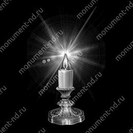 Гравировка свечи С-015 ≤ 34х22 см