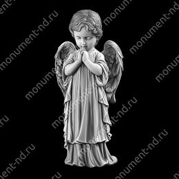 Гравировка ангела А-025от 25х25 см