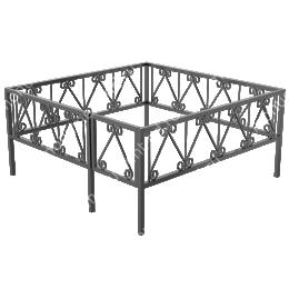 Сварная ограда ОС-014