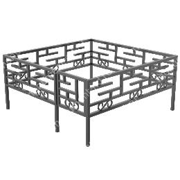Сварная ограда ОС-017 200х180 см.
