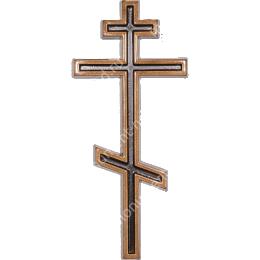 Декор для памятника-09 полимергранит цвет бронза/серебро 20х8,5 см