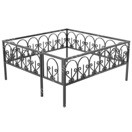 Ограда кованная ОK-43 200х180 см