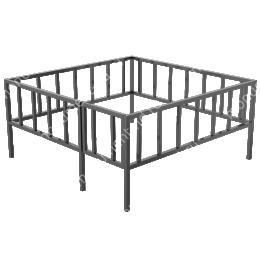 Сварная ограда ОС-006 200х180 см.