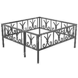 Ограда кованная ОК-28 200х180 см