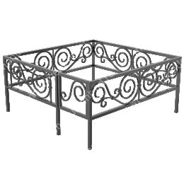 Ограда кованная ОК-19 200х180 см