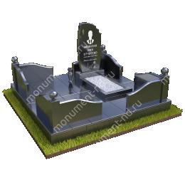 """Мемориальный комплекс Ц-002 """"Под ключ"""" 200х180 см"""