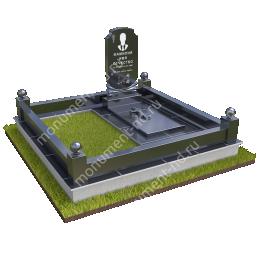 """Мемориальный комплекс Ц - 083 """"Под ключ"""" 200х180 см"""