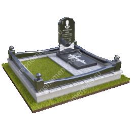 """Мемориальный комплекс Ц-011 """"Под ключ"""" 200х180 см"""