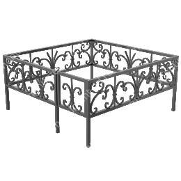 Ограда кованная ОK-41 200х180 см