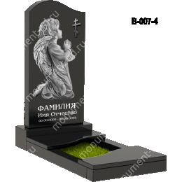 Надгробная плита - 007 гранит 80*40*5